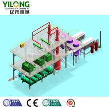 Sistema automático de filtro de aceite de motor de desecho