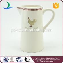 Buen precio con la mejor venta linda jarra de cerámica de calavera de cerámica