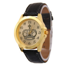 Genuine leather women quartz watch