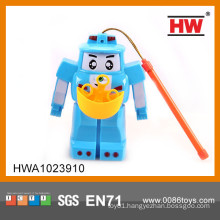 Hot sale plastic soap bubble machine with light and music