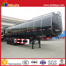3 Axle 35m3 Mineral Resin Asphalt Transport Tanker Semi Trailer