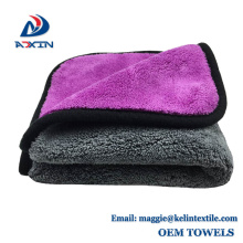 Wholesale 80/20 Double Side 1000GSM Coral Fleece Cleaning Microfiber Cloth