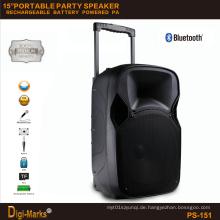Neue stilvolle tragbare Bluetooth batteriebetriebene Mini-TV-Bühne Lautsprecher