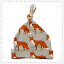 Unisex Baby 100% Baumwolle Verstellbarer Knoten Hut