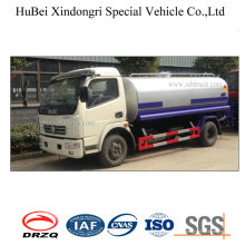 8ton 6cbm Dongfeng Euro 4 Water Tank Sprinkling Truck