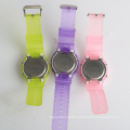 Sport watch colorful wristband watch 3 ATM with alarm watch wholesales