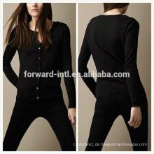 Frau Kaschmir Strickjacke Designer-Kleidung-Hersteller-in-China für Groß-Kleidung