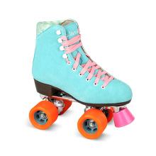 Soft Boot Quad Roller Skate para Adultos (QS-36-1)