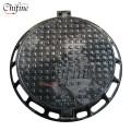 Ductile Iron Casting Round Manhole Cover