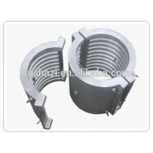liquid cooled aluminum mould cast in heater