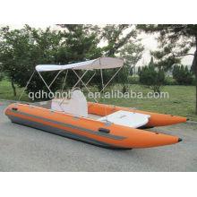 CE-Hochgeschwindigkeits-Katamaran Schlauchboot Rennen