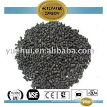 Air purification of activated carbon