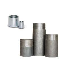 Tête carrée et raccords de tuyauterie en acier noir type coude