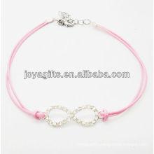 diamante number eight alloy bracelet 95B0313-102