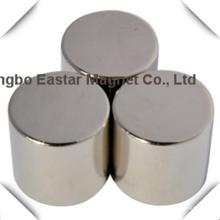 Большой размер диска постоянного неодимовый магнит с никелевым покрытием