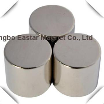 N42sh Neodymium Cylinder Magnet Without Plating