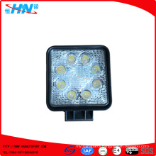 24W 12V or 24V LED Work Light With 8 Pieces High Power 3W LEDS