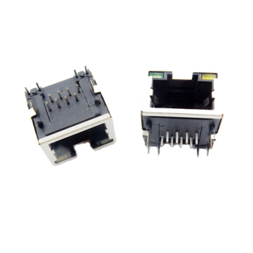 RJ45 Jack Side Entry Tab-Up1X1P schermato con LED