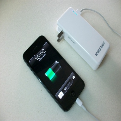 Cargador de pared Power Bank con enchufe 4400mah