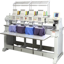 Computerized Embroidery Machine for Cap, T-shirt, Flat, Bead, Sequin,Cording, Boring Embroidery