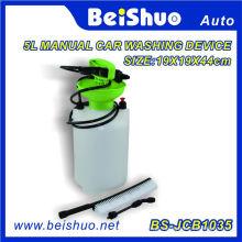 PRO Lavadora de Pressão Portátil Power Pump Car Jet Wash Escova Mangueira Lance 5L Washer