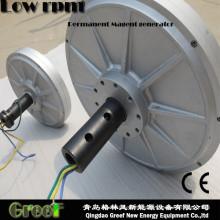 Low Torque Coreless Disc Permanent Magnet Generator by Wind Power
