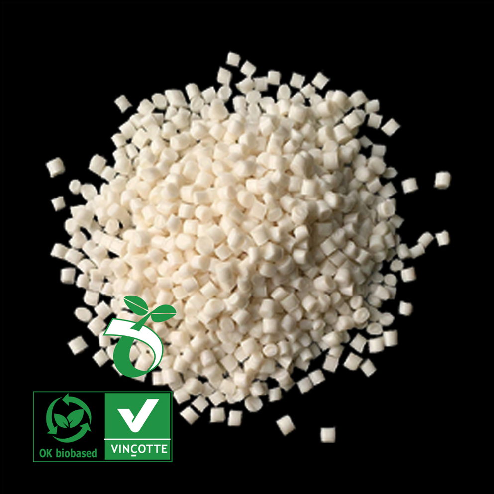 1biodegradable corn starch plastic pellets