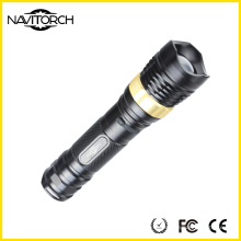 Wiederaufladbare Aluminium-Taschenlampe für Camping Lighting (NK-2668)