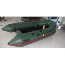 Militärische grüne PVC-aufblasbare Marine Floß