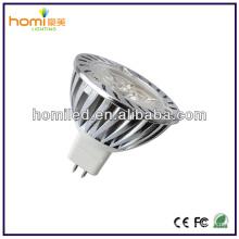 Литой алюминиевый Светодиодные MR16 3W Spotligt