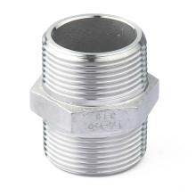 Aço inoxidável industrial Hex Nipple