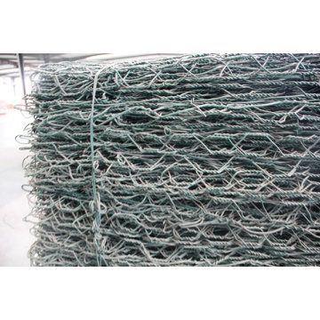 Caixa Gabion 2mx1mx1m 270g Zinc Hot Dipped Gavalnized Wire