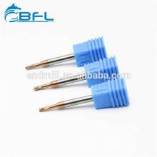 BFL-Vollhartmetall-Schaftfräser mit 2 Nuten und langem Hals und kurzem Schaft