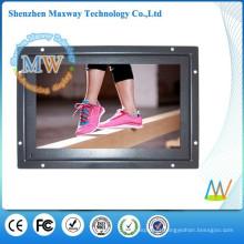 sinalização digital de 7 polegadas abrir o reprodutor de publicidade em lcd quadro