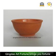 Керамическая чаша для наружного применения с натуральной глиной
