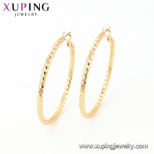95111 Wholesale fashion women jewelry Indian style simple design gold round earring