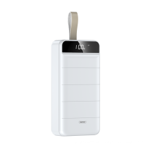 Remax portable cell phone battery charger powerbank usb 40000mAh 10W 5V / 2.1A fast charging high capacity Power Bank
