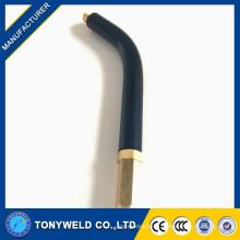 mig welding consumables Miller swan neck