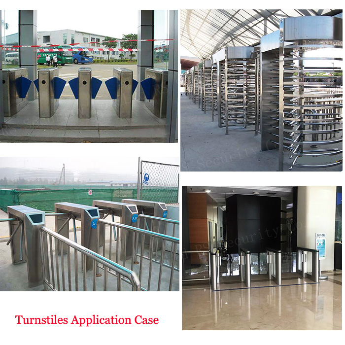 security turnstile gate system