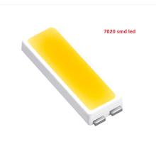 Os produtos novos 0.2w 0.3w 0.5w 0.75w smd 7020 conduziram a cor branca da microplaqueta para o luminoso