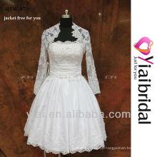 RSW87 Short Wedding Dress With Insert Pocket