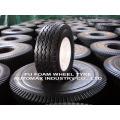 Flat Free Solid Polyurethane Wheelbarrow Tire