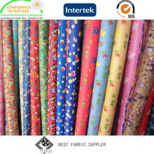 PVC beschichtet, 100 % Polyester bedruckten Stoff für Taschen mit umweltfreundlichen