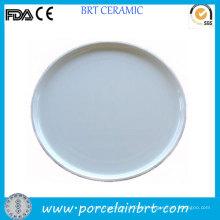 Round Porcelain Cake and Tea Tray