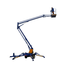 16m hydraulic towable articulating arm boom lift