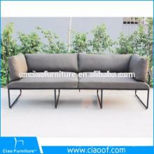 Sofa de jardin de loisirs de meubles extérieurs d'aspect moderne
