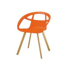 Cadeira de plástico sob 99 cadeiras em forma de Z