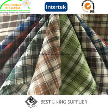100% Polyester Check Lining Fabric for Jacket
