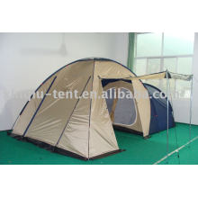 Big outdoor family camping tent
