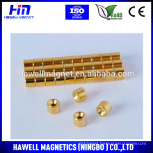 round countersunk hole magnet